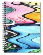 Rippled Spiral Notebook