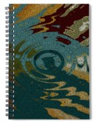 Rippled Time Spiral Notebook