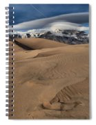 Ripples Dunes And Clouds Spiral Notebook