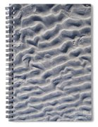 Ripples In The Sand And Surf Spiral Notebook