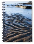 Ripples In The Sand Spiral Notebook