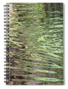 Ripples On Florida River Spiral Notebook