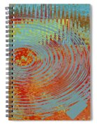 Rippling Colors No 1 Spiral Notebook