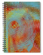 Rippling Colors No 2 Spiral Notebook