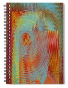 Rippling Colors No 3 Spiral Notebook