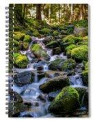 Rippling Rainforest Spiral Notebook