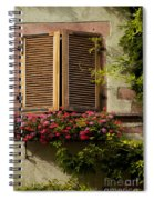 Riquewihr Window Spiral Notebook