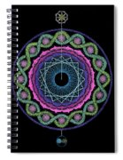 Rising Above Challenges Spiral Notebook