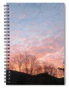 Rising Beauty Spiral Notebook