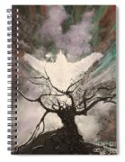 Rising From The Ash Spiral Notebook