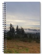Rising From The Mist Spiral Notebook