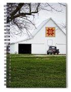 Rising Star Quilt Barn Spiral Notebook