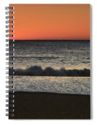 Rising To The Occasion - Jersey Shore Spiral Notebook