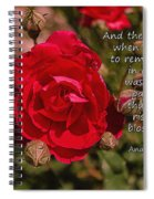Risk To Blossom Spiral Notebook
