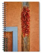 Ristra And Door Spiral Notebook