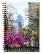 Rittenhouse Square In Springtime Spiral Notebook