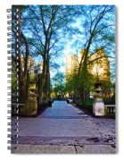 Rittenhouse Square Park Spiral Notebook