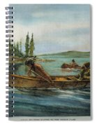 Rival Fur Traders  Spiral Notebook