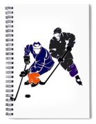Rivalries Oilers And Kings Spiral Notebook