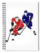 Rivalries Senators And Maple Leafs Spiral Notebook
