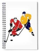 Rivalries Senators And Sabres Spiral Notebook