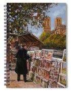Rive Gouche Spiral Notebook