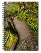Exploring Columbia River Gorge - Highway 30 Spiral Notebook