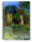 River At Riverbend Park In Jupiter Florida Spiral Notebook