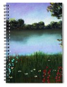 River Bank Spiral Notebook