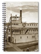 River Boat Yukon Stern Wheel Alaska 1915 Spiral Notebook
