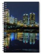 River City Skyline Spiral Notebook