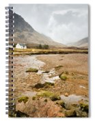 River Coupall In Glen Coe Spiral Notebook