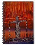 River Dance Spiral Notebook