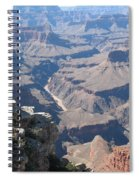 River Deep - Mountain High - Grand Canyon And Colorado River Spiral Notebook