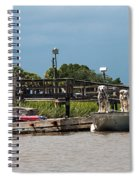 River Dogs Spiral Notebook
