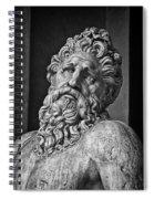 River God Arno Spiral Notebook
