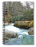River House In Spring Spiral Notebook