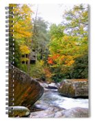 River House In The Fall Spiral Notebook