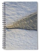 River Ice Star Spiral Notebook