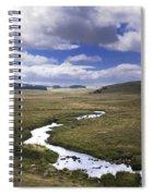 River In A Landscape Spiral Notebook