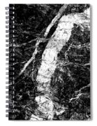 River In The Cliff Spiral Notebook
