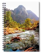 River In Zion National Park Spiral Notebook