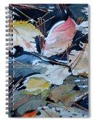 River Leaves Spiral Notebook