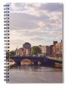 River Liffey 2 - Dublin Spiral Notebook