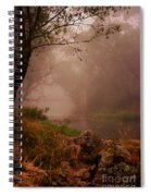 River Mist On A Mystical Morning Spiral Notebook