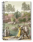 River Near San Benedetto, Madagascar Spiral Notebook