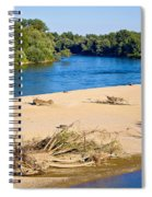 River Of Drava Green Nature Spiral Notebook