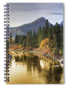 River Of Gold Spiral Notebook