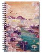 River Of Light Spiral Notebook