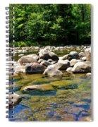 River Of Rocks Spiral Notebook